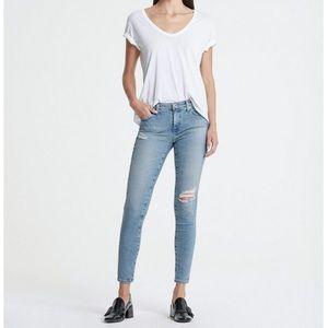 AG Farrah High Rise Skinny Ankle Jeans size 30